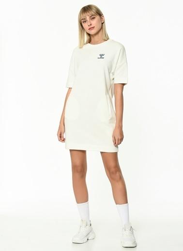 Hummel Kadın Browst Elbise 920873-9003 Beyaz